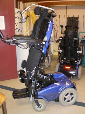 Fauteuil Roulant électrique à Verticalisation électrique LSM - Prix d un fauteuil roulant Électrique