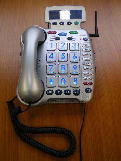 Photo du téléphone cl 600 lors de l'essai à Hacavie