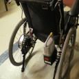 Le Pluriel Power est constitué d'une base de fauteuil roulant manuel standard, le Pluriel, et d'une motorisation et d'une électronique fournies par Yamaha.