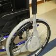 Ce système de conduite d'un fauteuil roulant manuel par son utilisateur est nouveau. La conduite par les mains courantes peut être un mouvement difficile à réaliser pour certaines personnes. Le Nudrive peut remédier à ces difficultés.