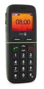 Le téléphone 342 gsm en noir
