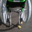 Le Fox est un fauteuil actif léger, à châssis fixe, ultra-maniable et évolutif qui nous a été présenté en même temps que les 2 modèles de Mex.