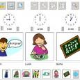 VISUAL TIMETABLE est un logiciel de création de planning proposé par DOWN'S SYNDROME ASSOCIATION qui permet, comme son nom l'indique, de créer des plannings associant des pictogrammes aux heures voulues.