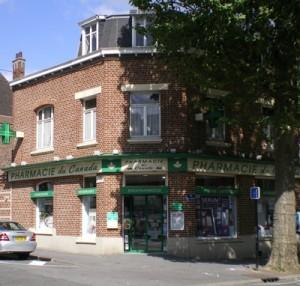 Photo de la facade de la pharmarcie