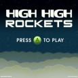 Présentons à présent un nouveau jeu de plate-forme fonctionnant grâce à un seul contacteur et édité par James Montana : HIGH HIGH ROCKET.