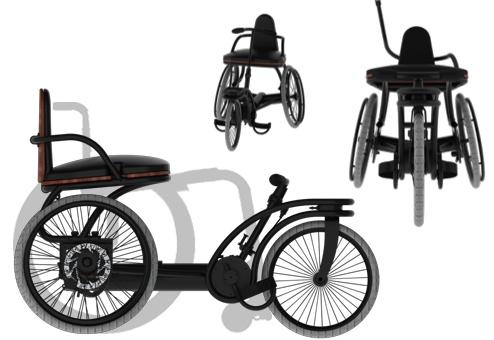 Le rotrike est un produit hybride mi fauteuil - mi tricycle donc la production a commencé en avril et la distribution au USA ne serait tardé.