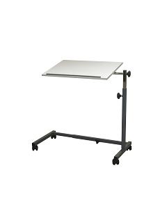 La table à simple plateau AC-207 permet un réglage du piètement... intéressant !