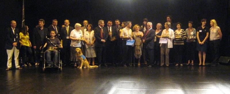 Première partie de notre reportage sur Autonomic 2010 : prix du jury Autonomic Innov, loisirs et communications ...