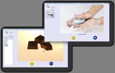 COMOOTY est un logiciel d'aide à la communication développé par EZOOTY basé sur l'utilisation de photos avec retour vocal ...