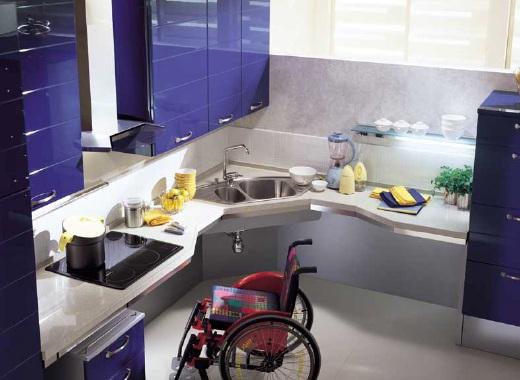 """Nous retiendrons la gamme """"UTILITY system"""" qui est composée d'éléments qui permettent de transformer une cuisine en un espace pleinement utilisable et accessible."""