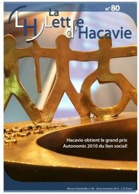 Version papier de notre revue trimestrielle, la lettre d'Hacavie, au format pdf prêt à imprimer