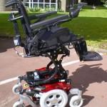 fauteuil roulant lectrique ch ssis fixe salsa m de sunrise medical. Black Bedroom Furniture Sets. Home Design Ideas