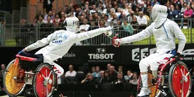 Du 6 au 11 novembre 2010 au Grand Palais, sur les Champs Élysée de PARIS,  se sont déroulés les championnats du monde d'escrime pour les sections valide et handisport. Chut... la France gagne !