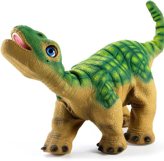 C'est un animal de compagnie robotisé qui a l'apparence d'un dinosaure ...