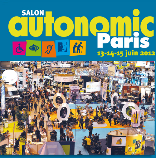 Hacavie autonomic paris 2012 for Salon autonomic paris