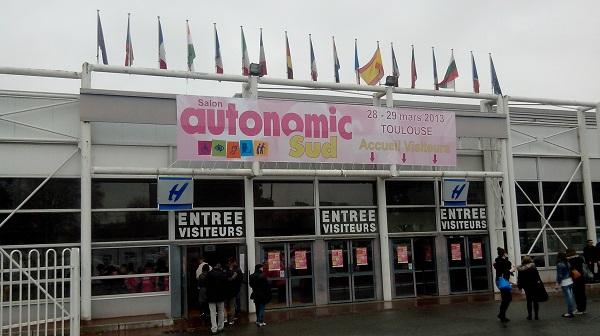 Visite du salon autonomic sud toulouse for Salon autonomic 2017