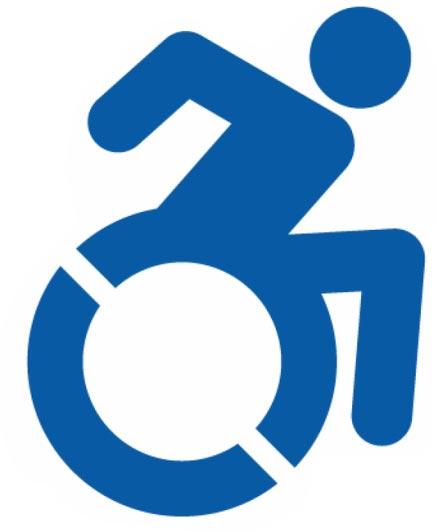 """Résultat de recherche d'images pour """"logo personne à mobilité réduite"""""""