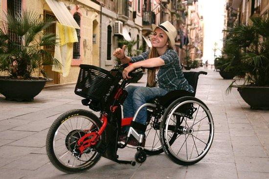 troisieme roue pour fauteuil roulant