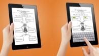 Snap Type est une application qui permet d'annoter des documents photographiés à l'aide de l'Ipad