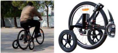 roues stabilisatrices de la marque X Prit