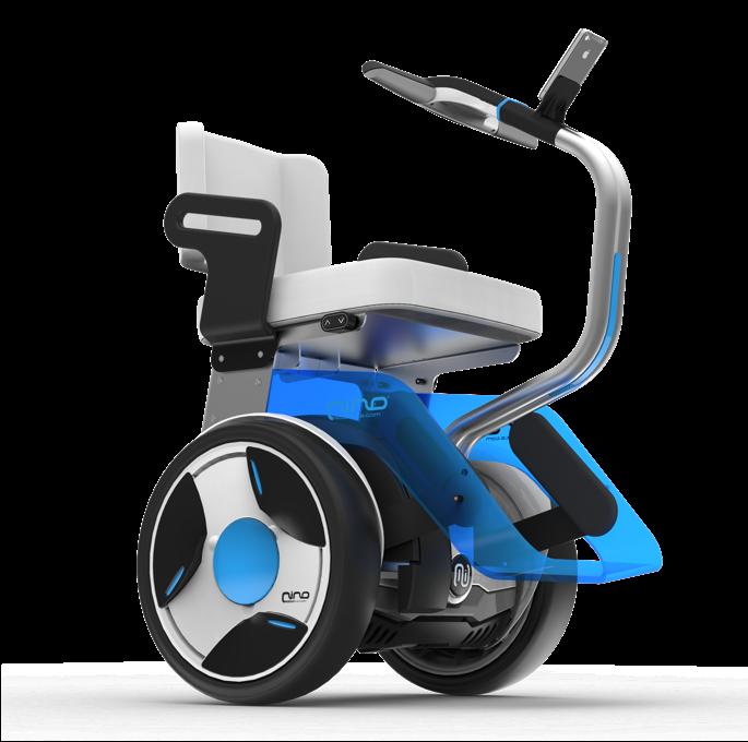 Le nino de nino robotics transporteur assis intelligent - Chaise roulante electrique prix ...
