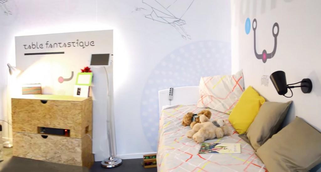 smart home chambre
