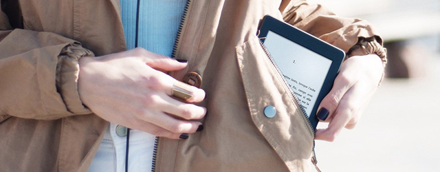 L'accessibilité des personnes atteintes de déficiences visuelles pour l'utilisation de la Kindle PaperWhite de chez Amazon.
