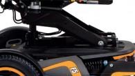 Le F5 Corpus VS est un fauteuil roulant électrique à roues avant motrices