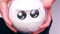 Ce robot est équipé de roulettes, de hauts parleurs, et de différentes lumières.