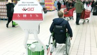 Nous avons eu l'occasion au cours d'une visite au centre commercial Englos les Géants de tester le Robot d'assistance Wiigo
