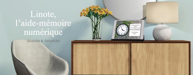 LiNote, anciennement Relink, est une tablette tactile connectée commercialisée par une start-up française ATLABS
