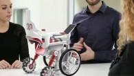 Il s'agit d'un projet de conception d'un fauteuil roulant innovant combinant 3 modes de fonctionnements complètement différents :