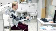 Nous avons eu la chance de pouvoir assister à différentes séances de rééducation, au sein de la Clinique Saint-Roch, avec pour moyens des exosquelettes nouvelle génération