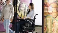 Le Salsa M2 Mini est un fauteuil roulant électrique à 6 roues (roues motrices centrales).