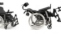 Fauteuil roulant manuel de type confort comprenant de multiples réglages.