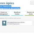 Grâce à la mise en ligne du site : http://www.pour-les-personnes-agees.gouv.fr/ les internautes peuvent désormais rechercher : - les prix mensuels des résidences autonomie et les prestations comprises dans ces prix, […]