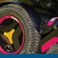 Le M5 Corpus est un fauteuil roulant électrique à 6 roues, assez similaire au M3 Corpus