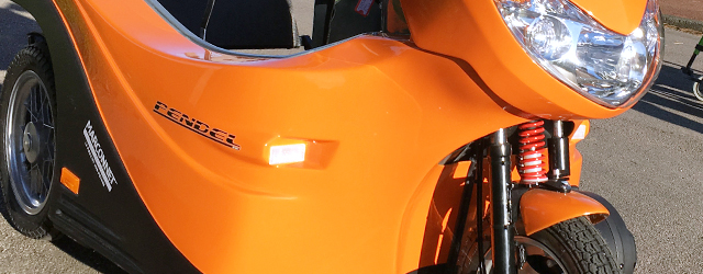 Vous pouvez prendre place dans le scooter sans transfert supplémentaire et sans aide extérieure.