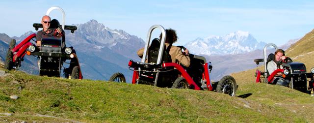 Conçu et fabriqué en France, il s'agit d'un véhicule électrique tout terrain doté de 4 roues motrices …