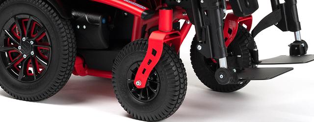 Présentation du nouveau Forest 3 Advance, fauteuil roulant électrique d'utilisation mixte de chez Vermeiren.