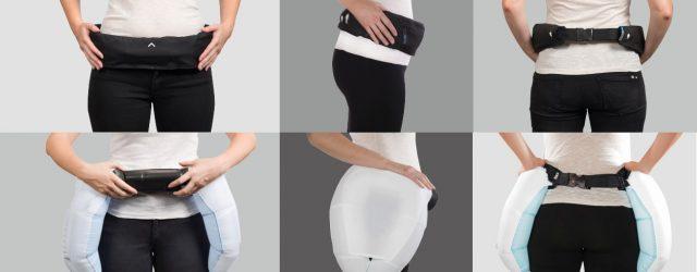 La société SP TechActive a conçu une ceinture de protection pour les personnes âgées susceptibles de tomber.