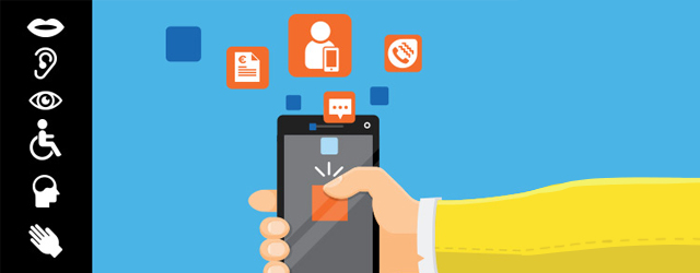 Découvrez quelques innovations d'Orange pour rendre le numérique accessible : Tactile Facile, le Coussin Viktor, la TV pour tous.
