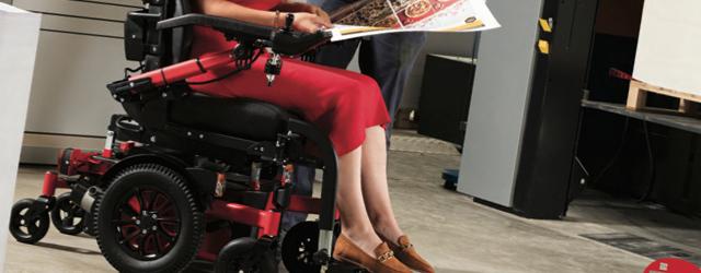 SIGMA est le nouveau fauteuil 6 roues fabriqué par la société Vermeiren.