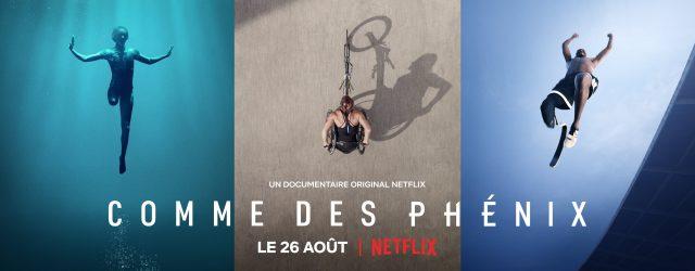 Le 26 Aout  sortira le documentaire comme des phénix en France qui l'histoire extraordinaire des Jeux Paralympiques à travers des athlètes paralympiques internationaux
