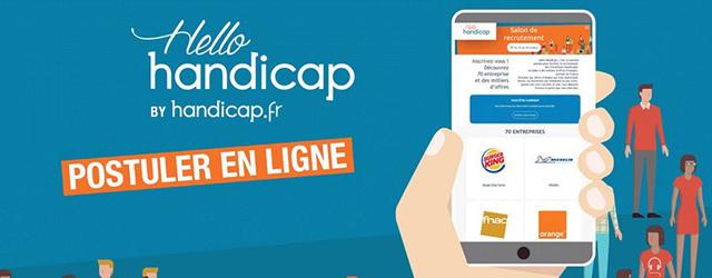 Créé par Handicap.fr en 2011, Hello handicap est le plus grand événement national 100% digital dédié au recrutement des travailleurs handicapés.