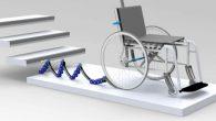 Son objectif est de permettre la montée et la descente des marches avec son propre fauteuil.